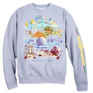 Disney Parks Walt Disney World Map Sweatshirt